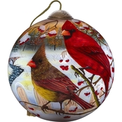 Precious Moments White Crimson Morning Ornament