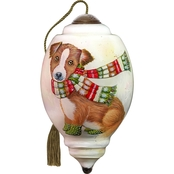 Precious Moments Winter Pup Ornament
