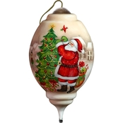 Precious Moments I'll Be Home for Christmas Santa Ornament