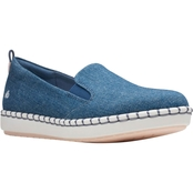 Clarks Step Glow Slip On Shoes