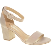 CL By Laundry All Innde Block Heel Sandals