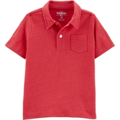 OshKosh B'gosh Toddler Boys Snow Yarn Polo Shirt