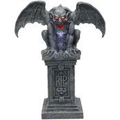 Morris Costumes Gargoyle Stone with Sound & Lights