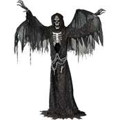 Morris Costumes Angel Of Death Life Size Animated Prop