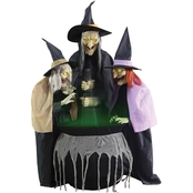 Morris Costumes Stitch Witch Sisters Animated Prop