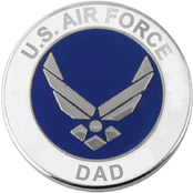 Mitchell Proffitt U.S Air Force Dad Lapel Pin