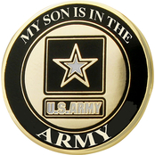 Mitchell Proffitt My Son is in the Army Lapel Pin