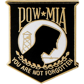 Mitchell Proffitt POW-MIA Lapel Pin