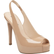 Guess Aerra Sling Back Platform Shoes