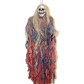 Morris Costumes Medium Hanging Prop with Hair
