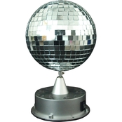 Morris Costumes Mirror Ball with LED Base