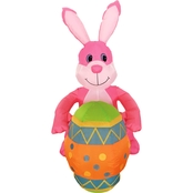 Morris Costumes 4 ft. Inflate Bunny with Egg