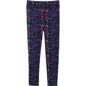 Pony Tails Girls Active Allover Printed Leggings