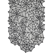 Morris Costumes Spiderweb Lace Table Runner