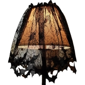 Morris Costumes Lace Decor Lampshade Topper