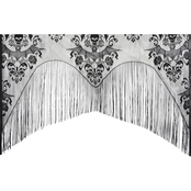 Morris Costumes Lace Decor Damask Curtain
