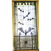Morris Costumes Lace Window Panel 40 x 84 in.