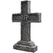 Morris Costumes Rest In Peace Cross Tombstone