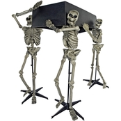 Forum Novelties Skeleton Pall Bearers with Coffin