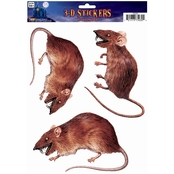 Forum Novelties Rat 3 D Cling