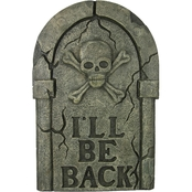 Forum Novelties Tombstone I'll Be Back 28 in.