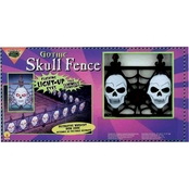Forum Novelties Gothic Skull Fence Set