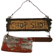Forum Novelties Chop Shop Sign