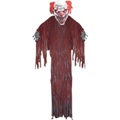 Forum Novelties 12 ft. Evil Clown Hanging Prop