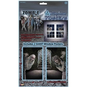Forum Novelties Zombie Window Clings 2 pc. Set