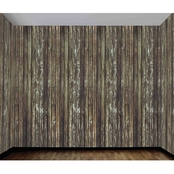 Forum Novelties Wood Wall Static Cling Film Roll