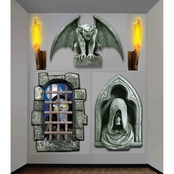 Forum Novelties Creepy Wall Decor Set