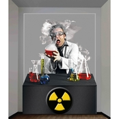 Forum Novelties Scientist Wall Decoration