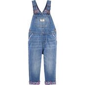 OshKosh B'gosh Infant Girls Denim Overalls