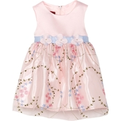 Princess Faith Toddler Girls Embroidered Skirt Dress