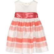Princess Faith Toddler Girls Striped Skirt Dress