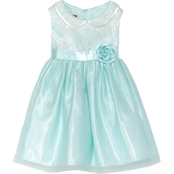 Princess Faith Toddler Girls Lace Bodice Dress