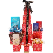 Lindt Chocolate Tower