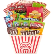 Alder Creek Deluxe Movie Night Gift Basket