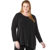 Calvin Klein Plus Size Asymmetrical Top
