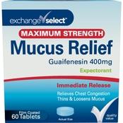 Exchange Select Mucus Relief Chest Congestion Tablets 60 ct.