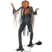Morris Costumes Scorched Scarecrow Prop with Fog