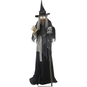 Morris Costumes Lunging Haggard Witch Animated Prop
