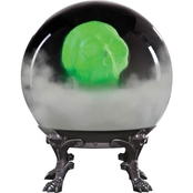 Phantom Skull Crystal Ball Decoration