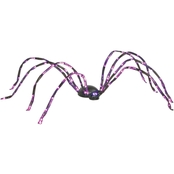 Lighted Purple Spider Prop