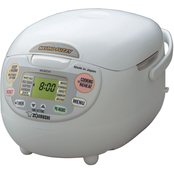Zojirushi 5 1/2 Cup Neuro Fuzzy Rice Cooker and Warmer