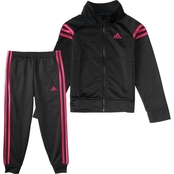 adidas Toddler Girls Event Tricot Set
