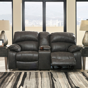 Signature Design by Ashley Dunwell Power Reclining Sofa and Loveseat Set