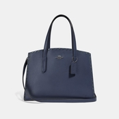 COACH Charlie Pebble Leather Carryall