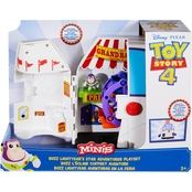 Disney Pixar Toy Story 4 Minis Buzz Lightyear's Star Adventurer Play Set