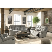 Signature Design by Ashley Mitchiner Reclining Sofa, Loveseat and Recliner Set
